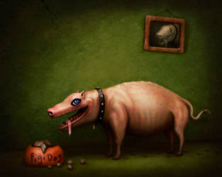 Pig Dog by Art-Ranger