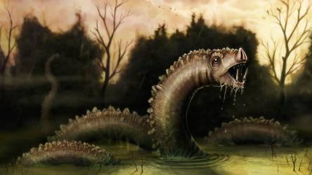 Swamp Beast by Art-Ranger