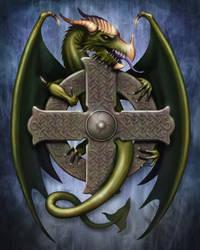 Celtic Dragon by Art-Ranger
