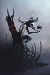 Bone King by Art-Ranger