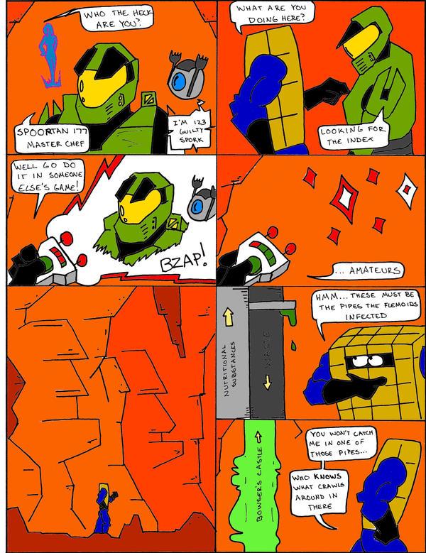 Chex Quest Part 5 Page by Kozmanaut