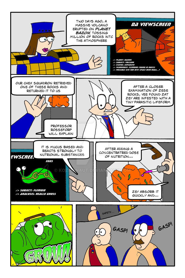 Chex Quest Page 002 by Kozmanaut