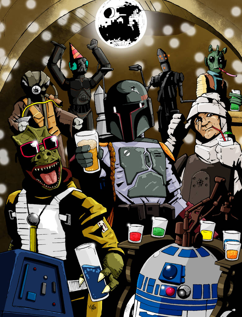 Boba Fett - Party Hunter