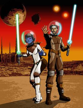 Star Wars Atompunk Jedi