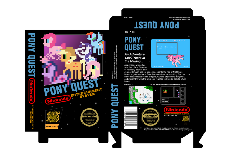 """Image result for Pony Quest NES"""""""