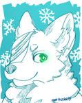 Arctic Wolf by DigitalTARDISbrony