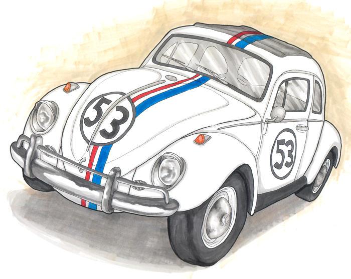 Herbie Car Coloring Pages : Herbie by herbiethelovebug on deviantart