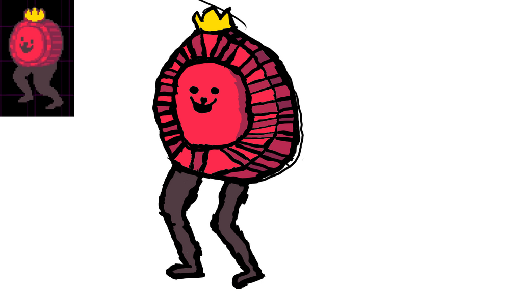 Trying to draw: K. Round | Day 4 by TheUwUGod