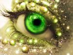Eye of nature. diamond