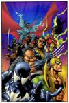 New Avengers 28 coloured