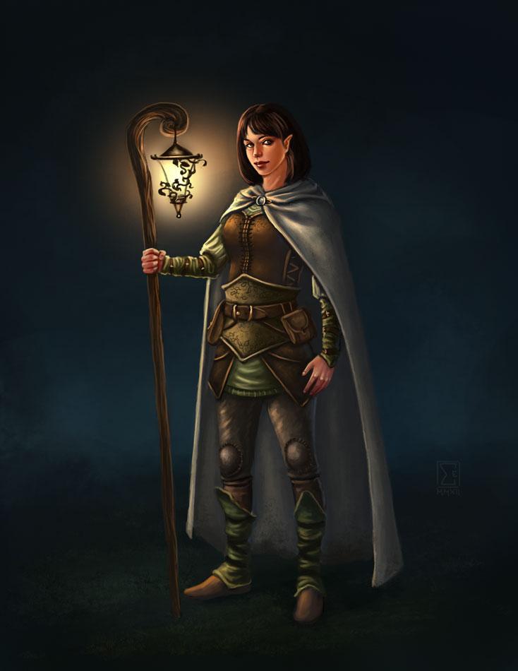 Commission: Amelia of the Lantern by ElifSiebenpfeiffer