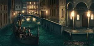 Gondola Ride by ElifSiebenpfeiffer