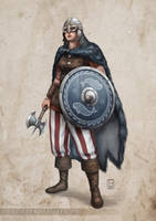 Priestess of Swafnir by ElifSiebenpfeiffer
