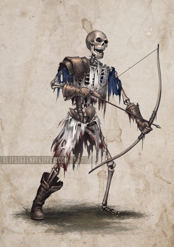 Skeleton Maaaan by ElifSiebenpfeiffer