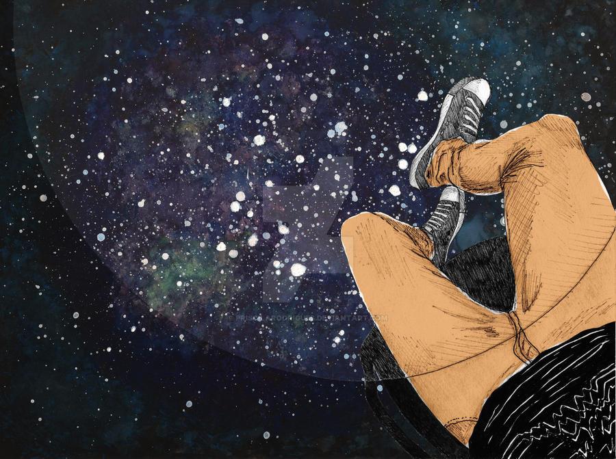Galaxy Floor by priscilarodrigues
