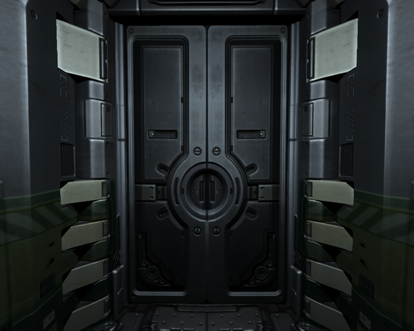 Those Big Steel Doors By Matt C20 On Deviantart