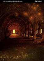 Fountains Abbey by lunartex