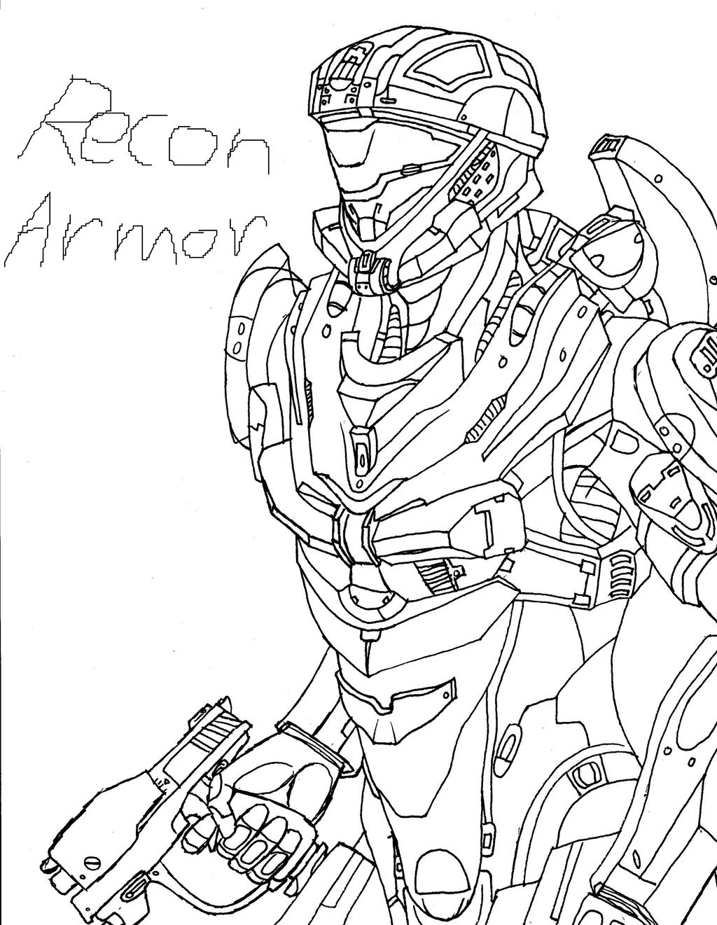 Halo 4 Spartan Drawing - voitures-americaines info