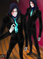 Kabuki Slender Twins by TRVartwork