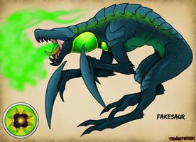 Creature Art 14: Fakesaur by TRVartwork