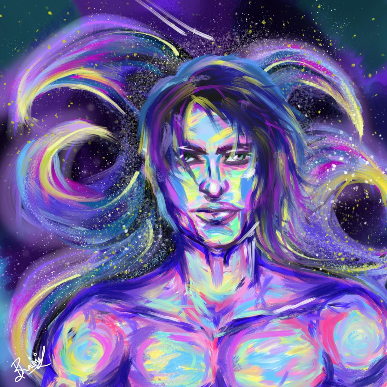 Fantasy Electric Man