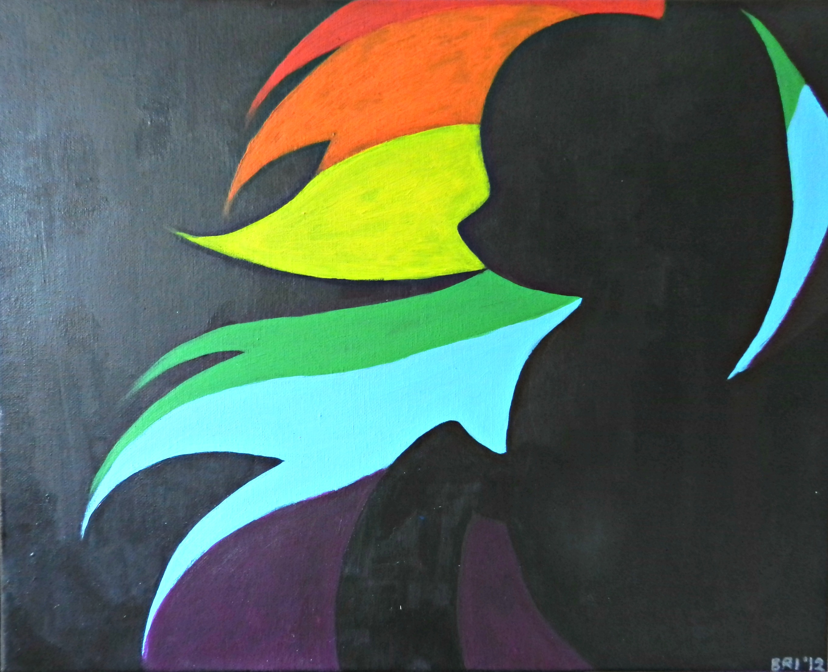 Rainbow Dash Silhouette by Juggalette07 on DeviantArt for Silhouette Painting Of Animals  104xkb