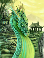 Jade Palace by AlpariArt