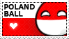 Polandball stamp by Simonetry