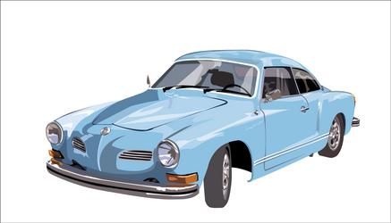 Karmann Ghia by Camsdragon