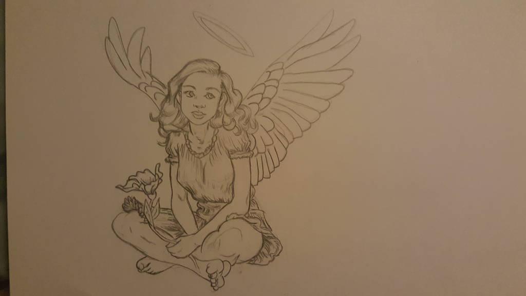 angel by Camsdragon