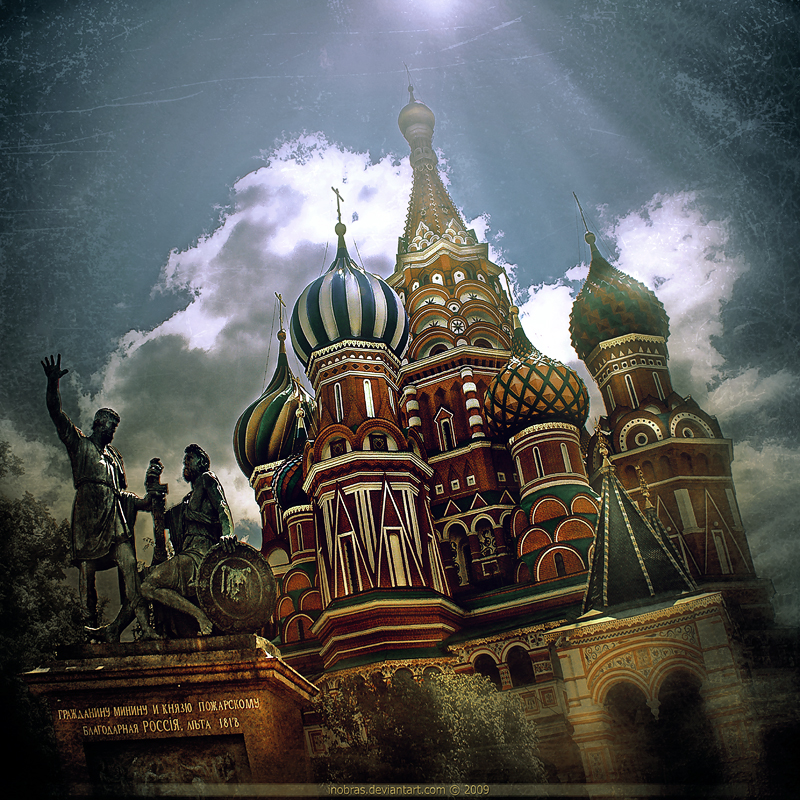 Moscow Russia  city photos gallery : Moscow Russia by inObrAS on DeviantArt