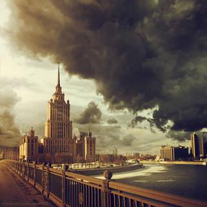 Hotel Ukraina in Moscow