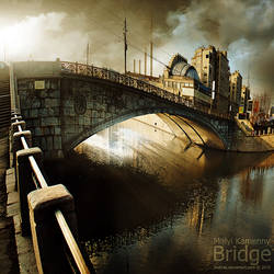 Malyi Kamenny Bridge Moscow by inObrAS