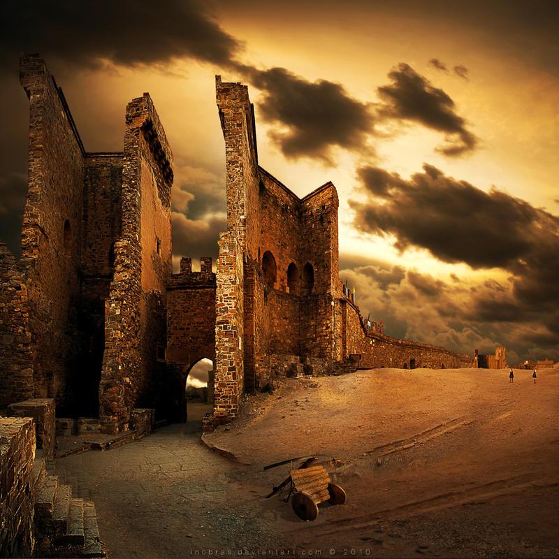 Genoese fortress in Sudak by inObrAS