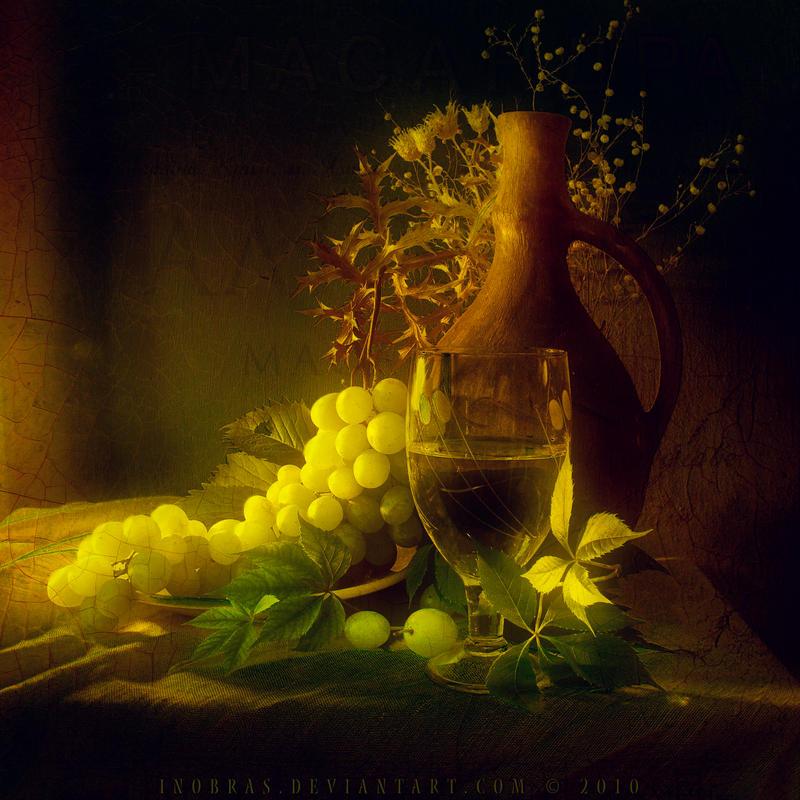 Wine for Friend by inObrAS