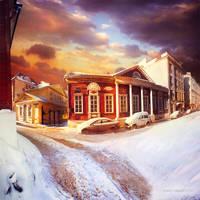Sytinsky Lane Moscow by inObrAS