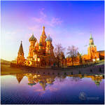 St. Basil`s Cathedral Moscow