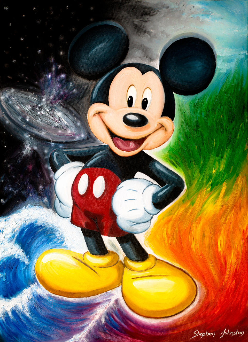 Mickey Mouse by STE-J-ART on DeviantArt