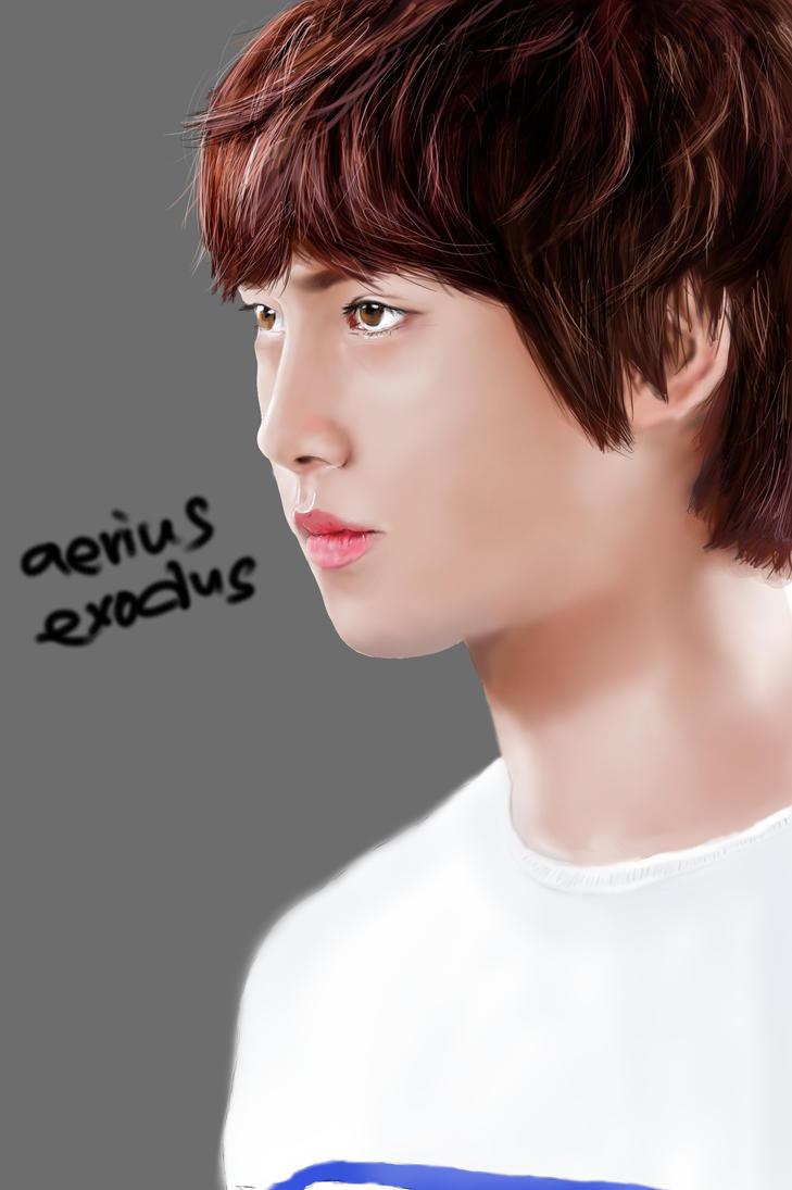 Jonghyun-ie CNBLUE by aeriusexodus
