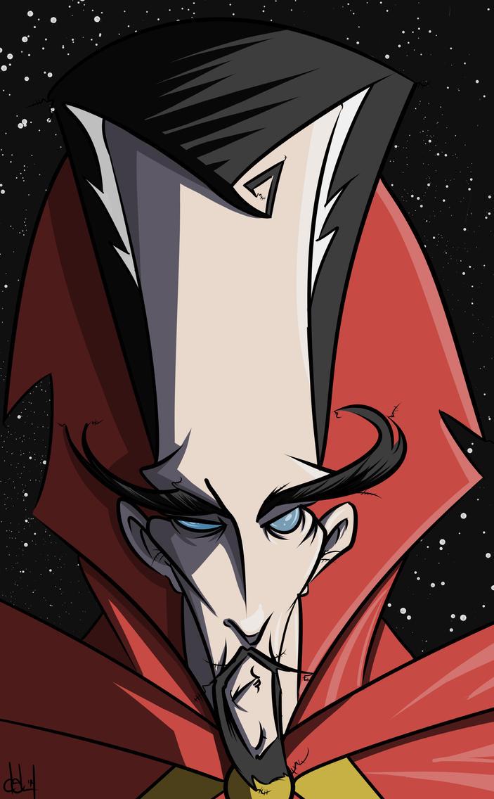 Dr Strange by BeeJayDeL