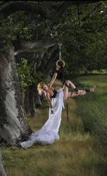Swinging Bride by SilvanusArt