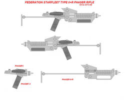 Federation Phaser II+R concept (TOS)