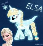 Elsa Pony From Frozen