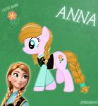 Anna Pony From Frozen