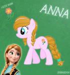 Anna Pony From Frozen (No Cloth)