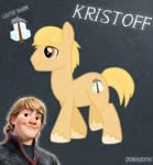 Kristoff Pony From Frozen (No Hat No Cloth)