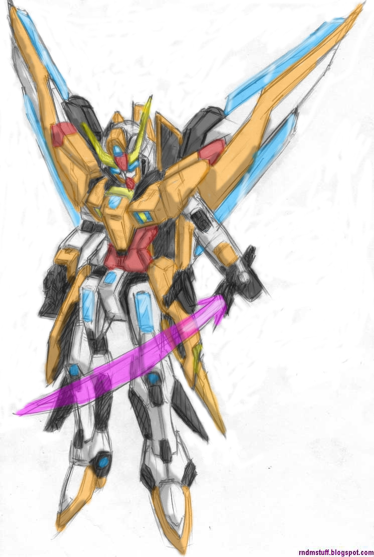 Lightning Gundam Color Test By Rnds On DeviantArt