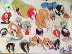 So many ocs XD