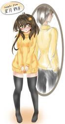 Mirror Doppelganger by AzureRat