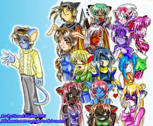 DA Buddies Color by AzureRat